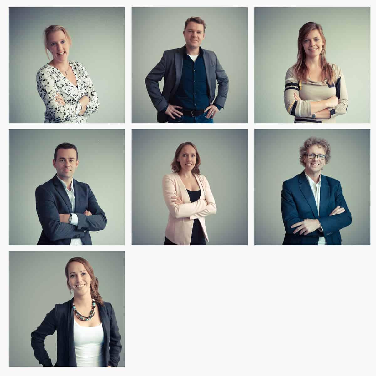Portretten team kennispraktijk door Peter van der Steege