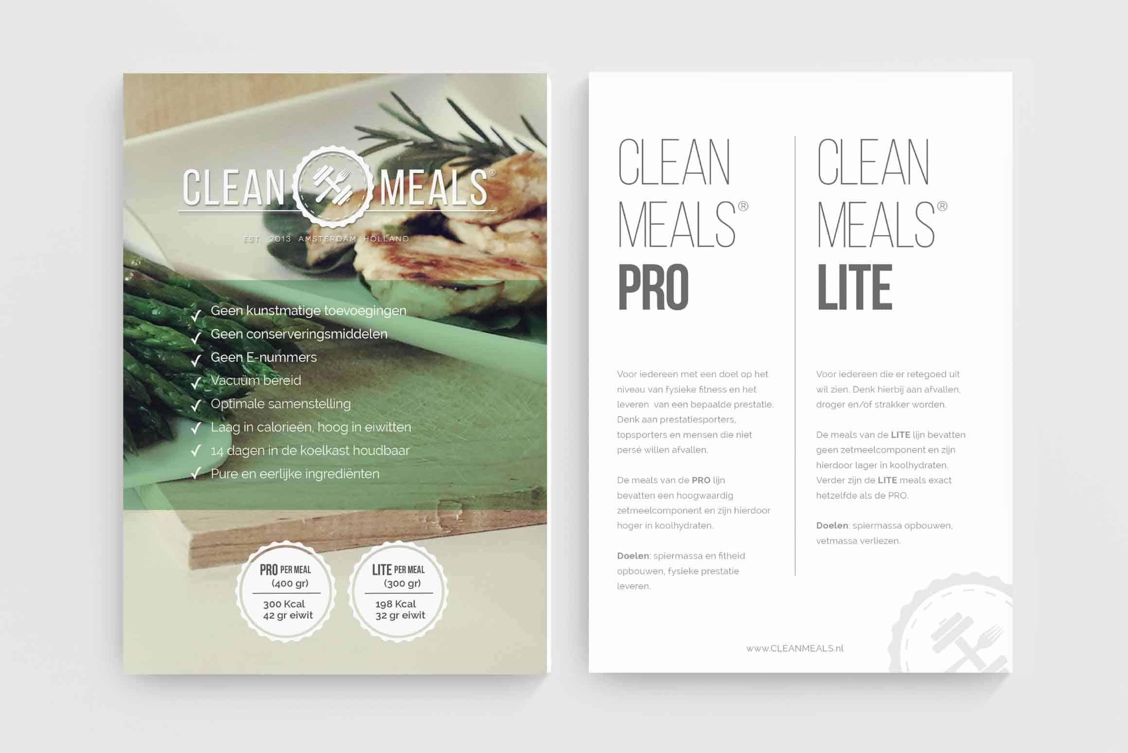 Clean Meals Flyer