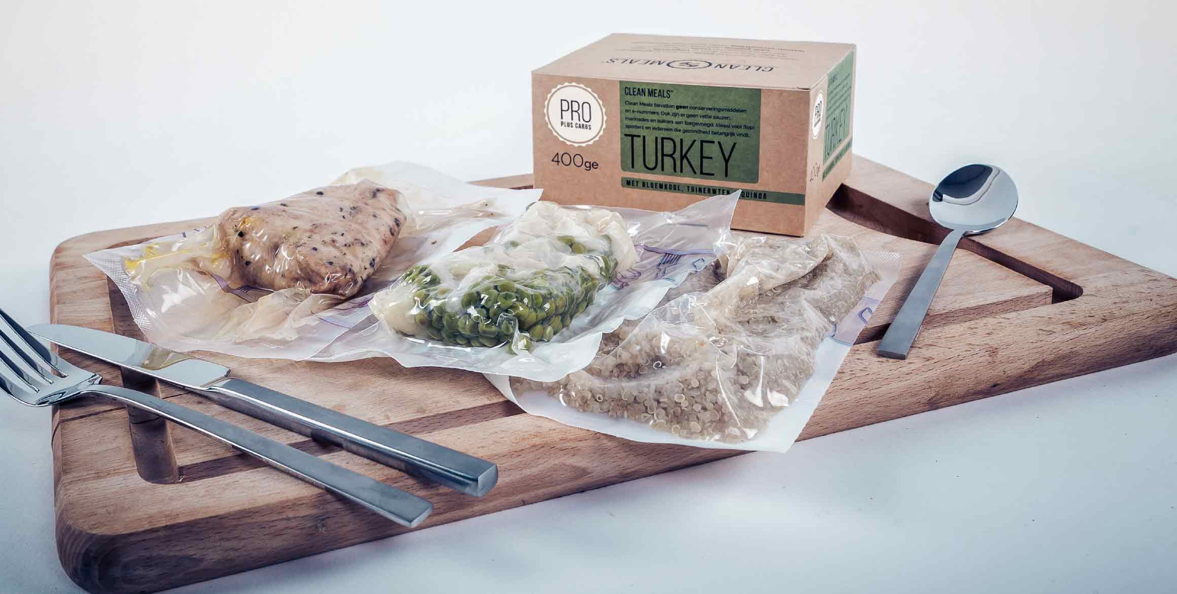 Clean Meals maaltijd Turkey