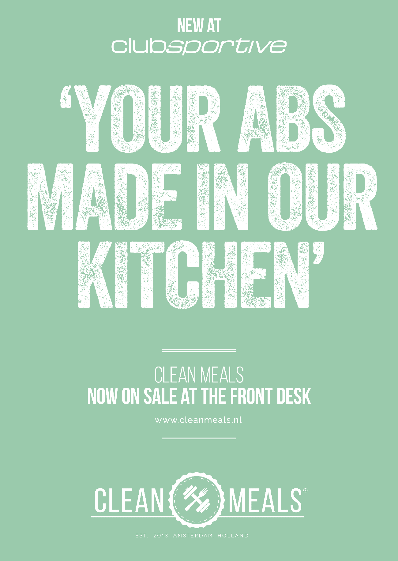 Clean Meals poster