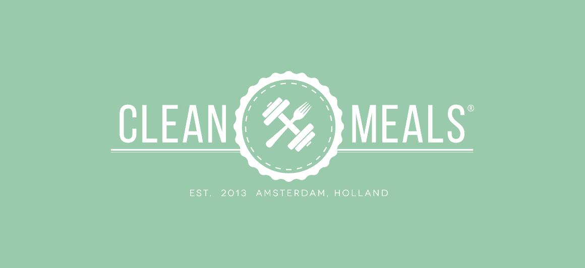 Logo ontwerp Clean Meals Amsterdam