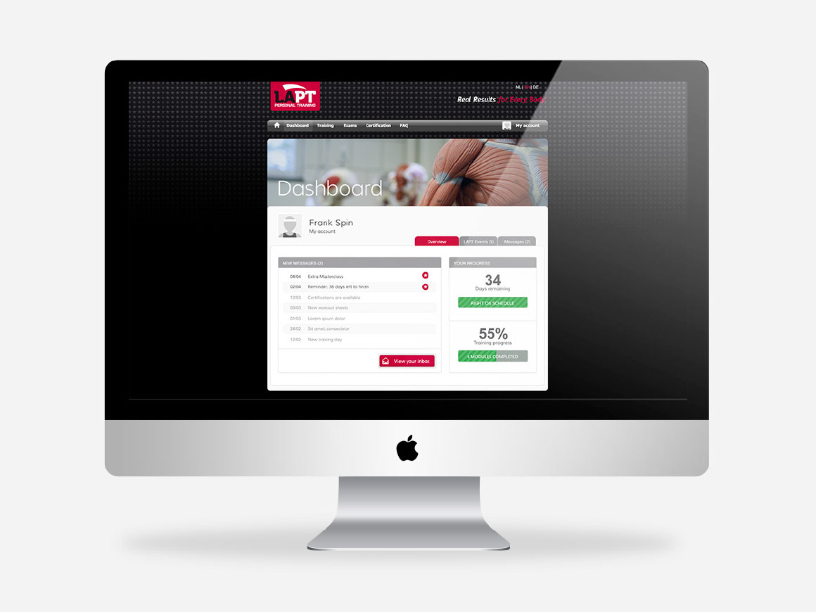 webdesign online leeromgeving