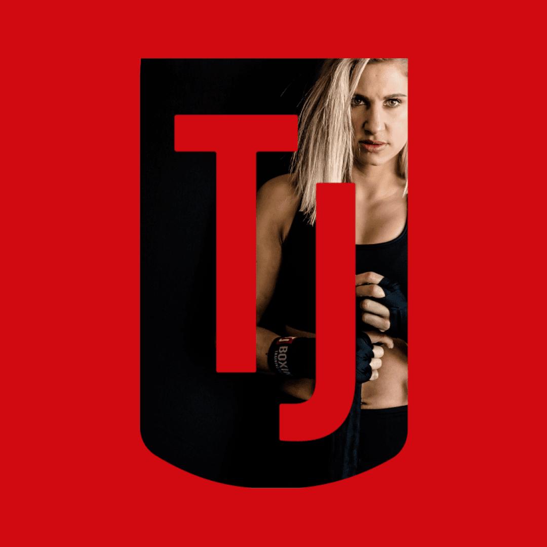 TJ Boxing logo artwork