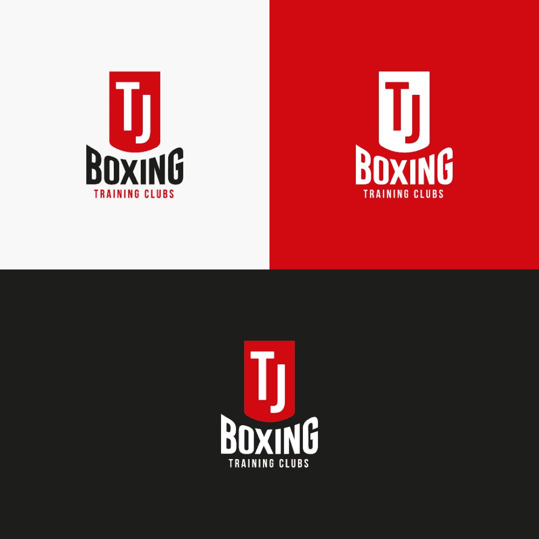 TJ Boxing logo design