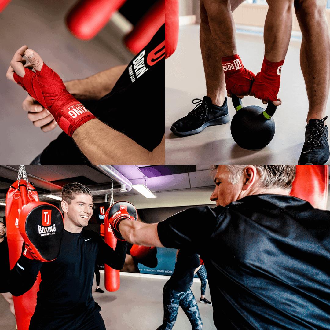 TJ Boxing training fotografie