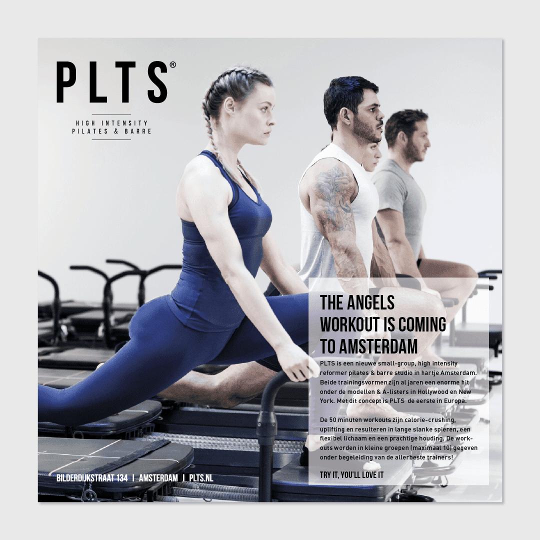 PLTS flyer ontwerp
