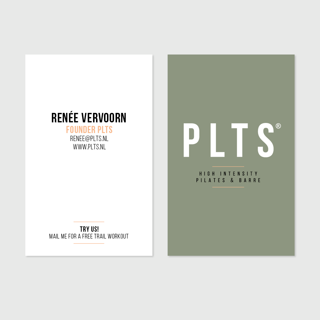 PLTS business card