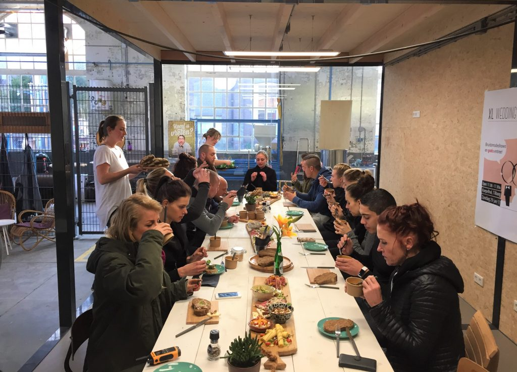 Samen lunchen!