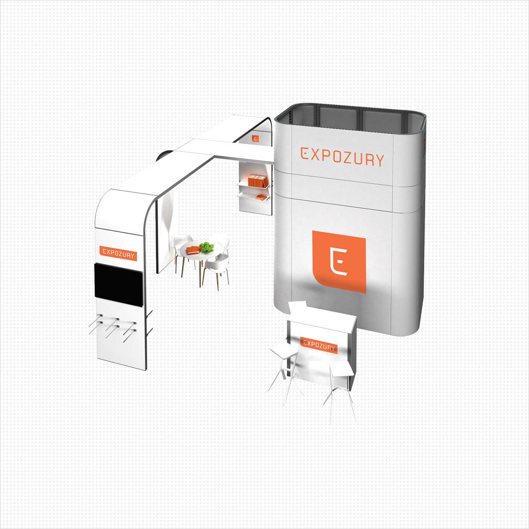 nieuw merk beursstand Expozury