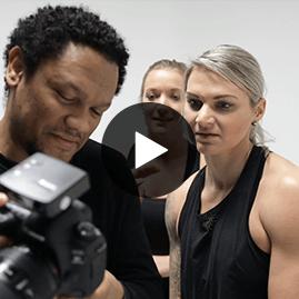 body bike fotoshoot behind the scenes fitbrand groningen