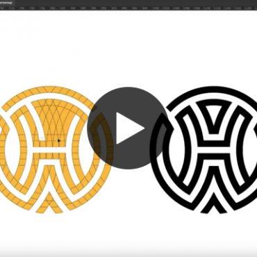 House of Workouts Logo Design Speed Art fitbrand agency groningen