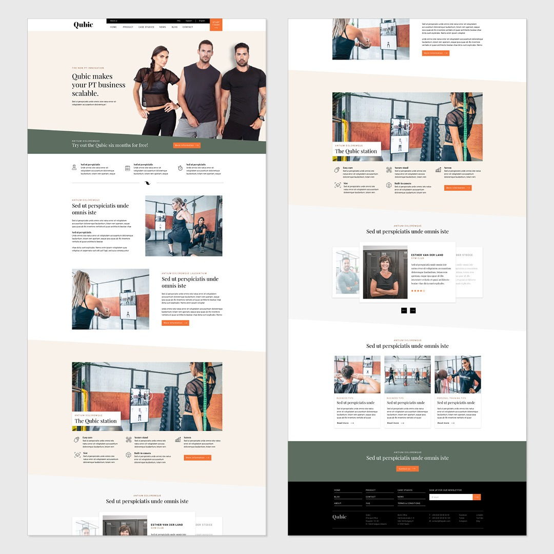 Website Qubic