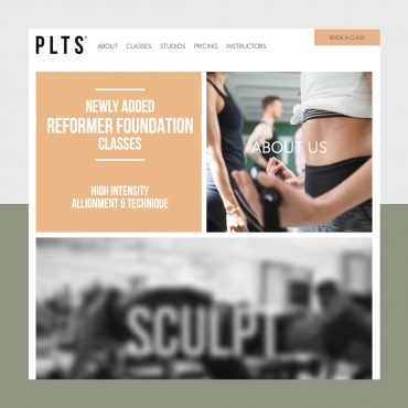 Webdesign boutique fitness