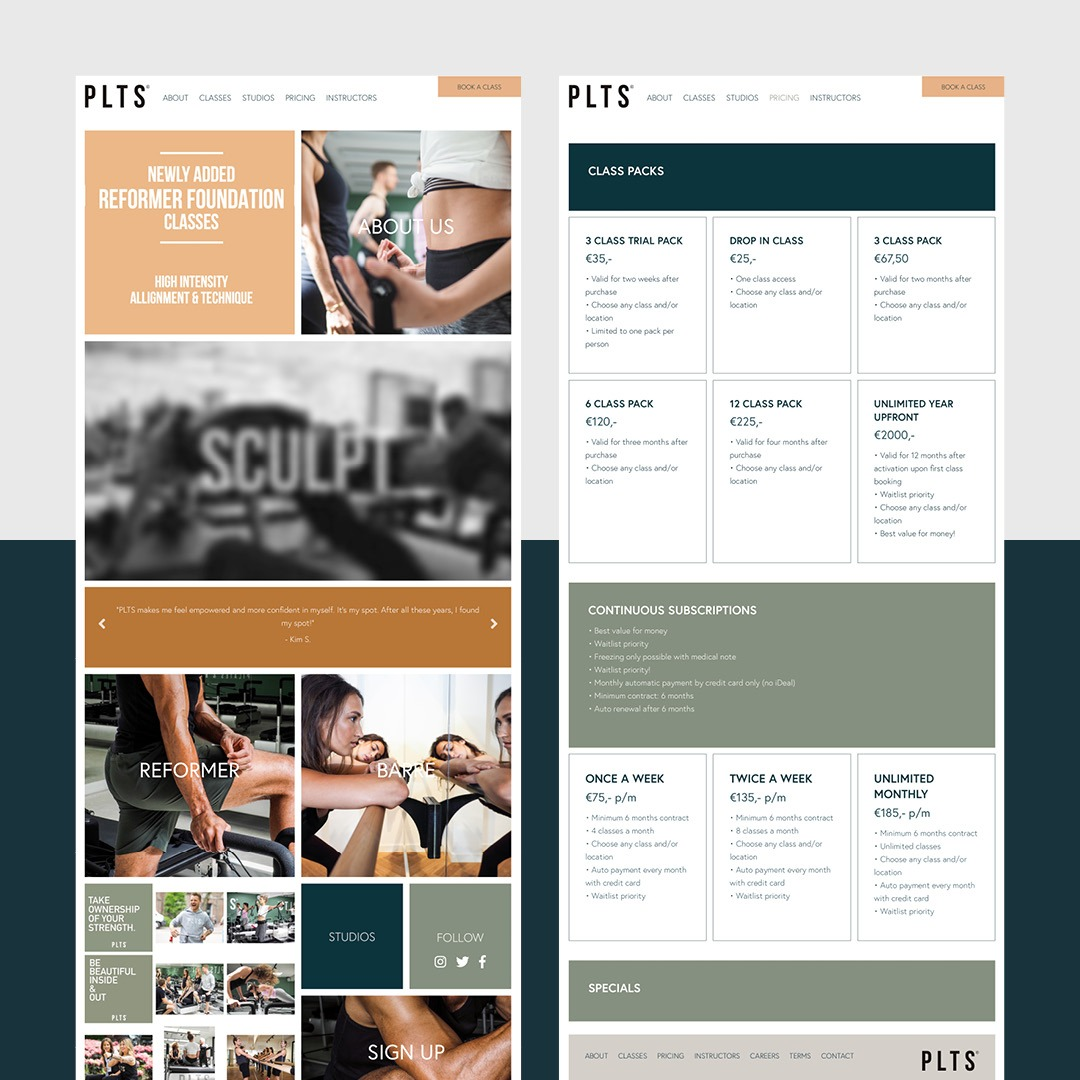 Webdesign PLTS