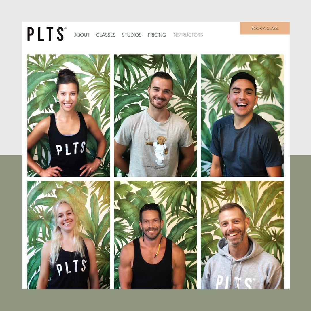 Webdevelopment boutique fitness