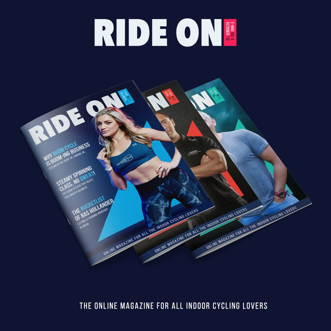 Graphic Design covers ride on magazine