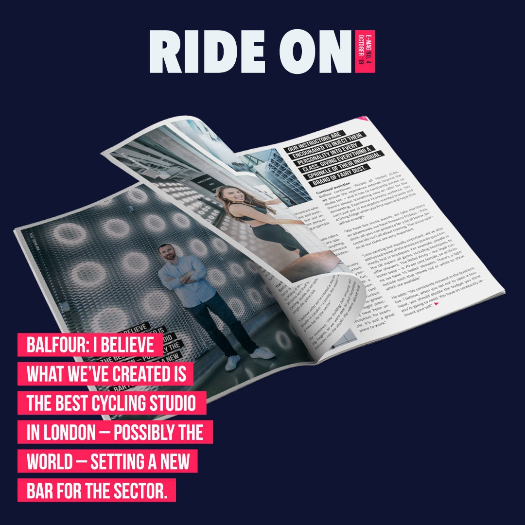 Design ride on magazine special James Balfour