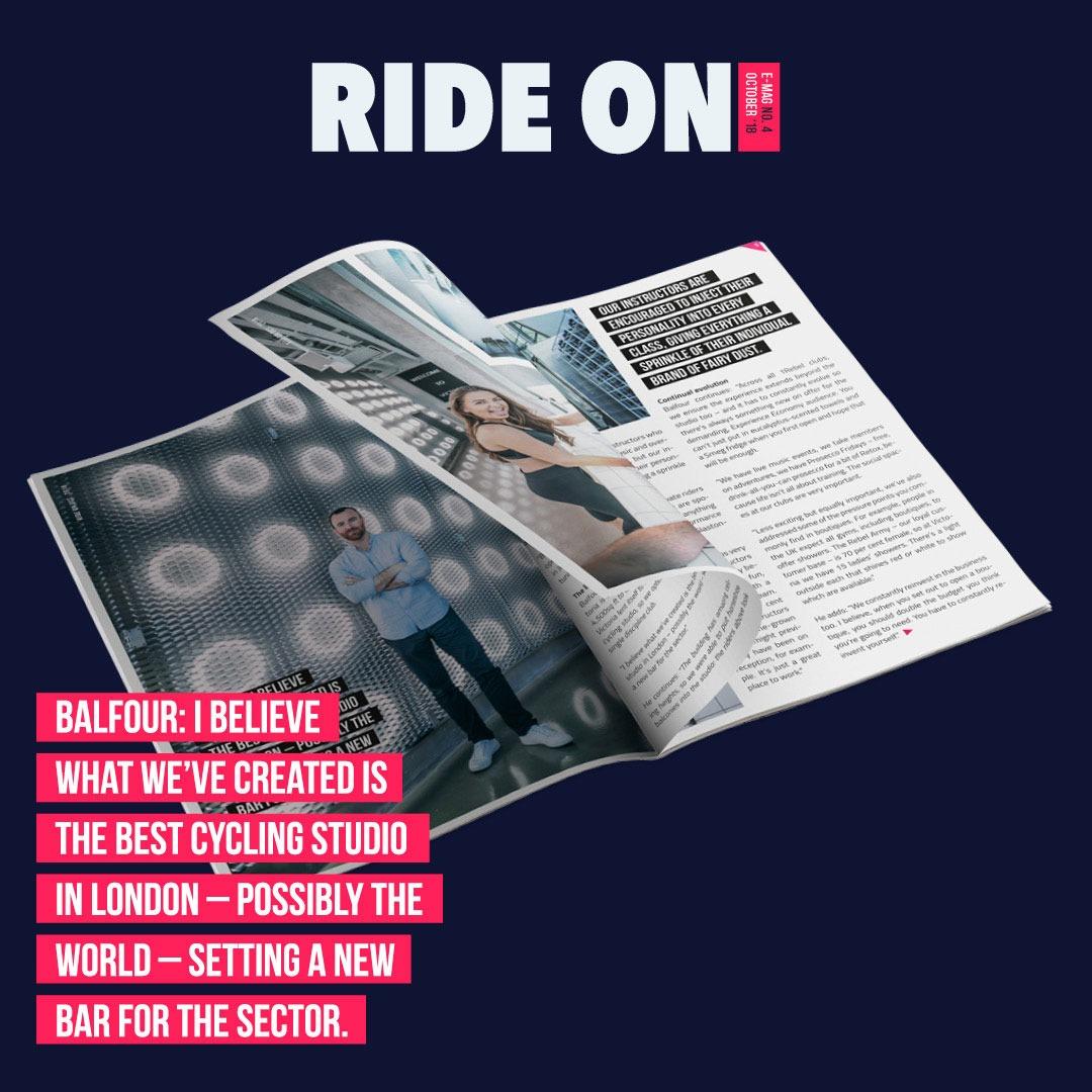 Design ride on magazine special James Balfour