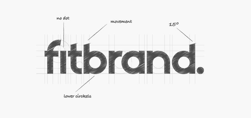 custom font fitbrand