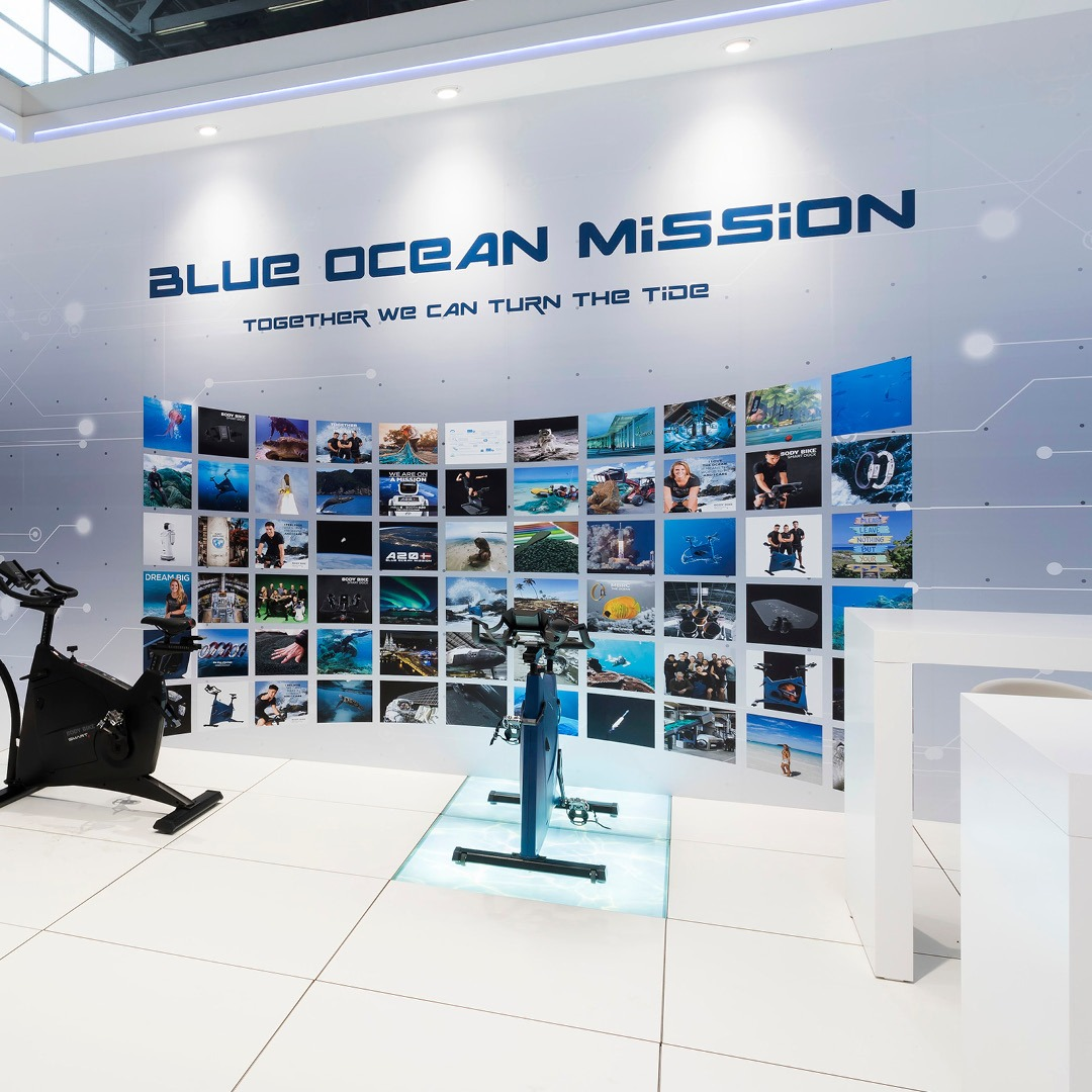 Oceanix campagne -blue ocean mission booth