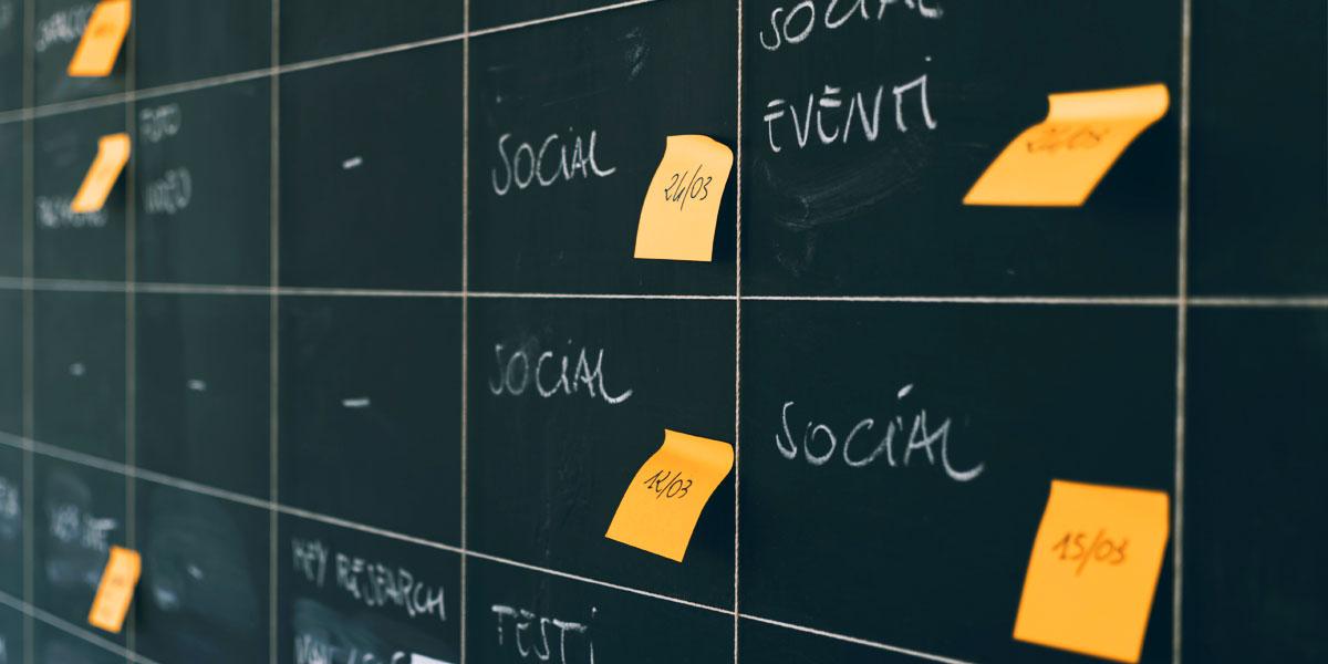 social media planning maken