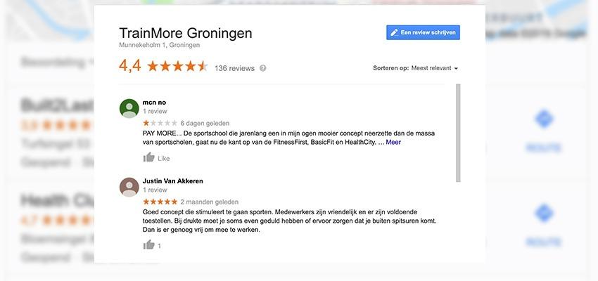 reviews fitness groningen