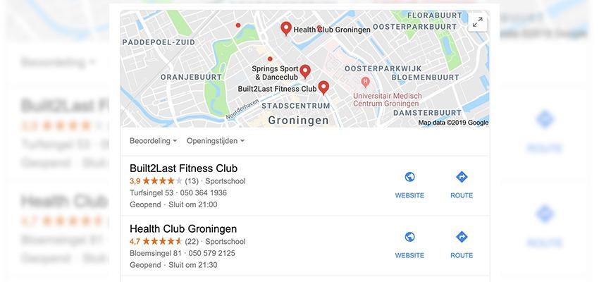 seo tips voor fitness clubs