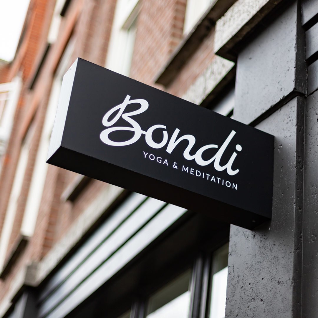 Branding Bondi yoga studio den haag