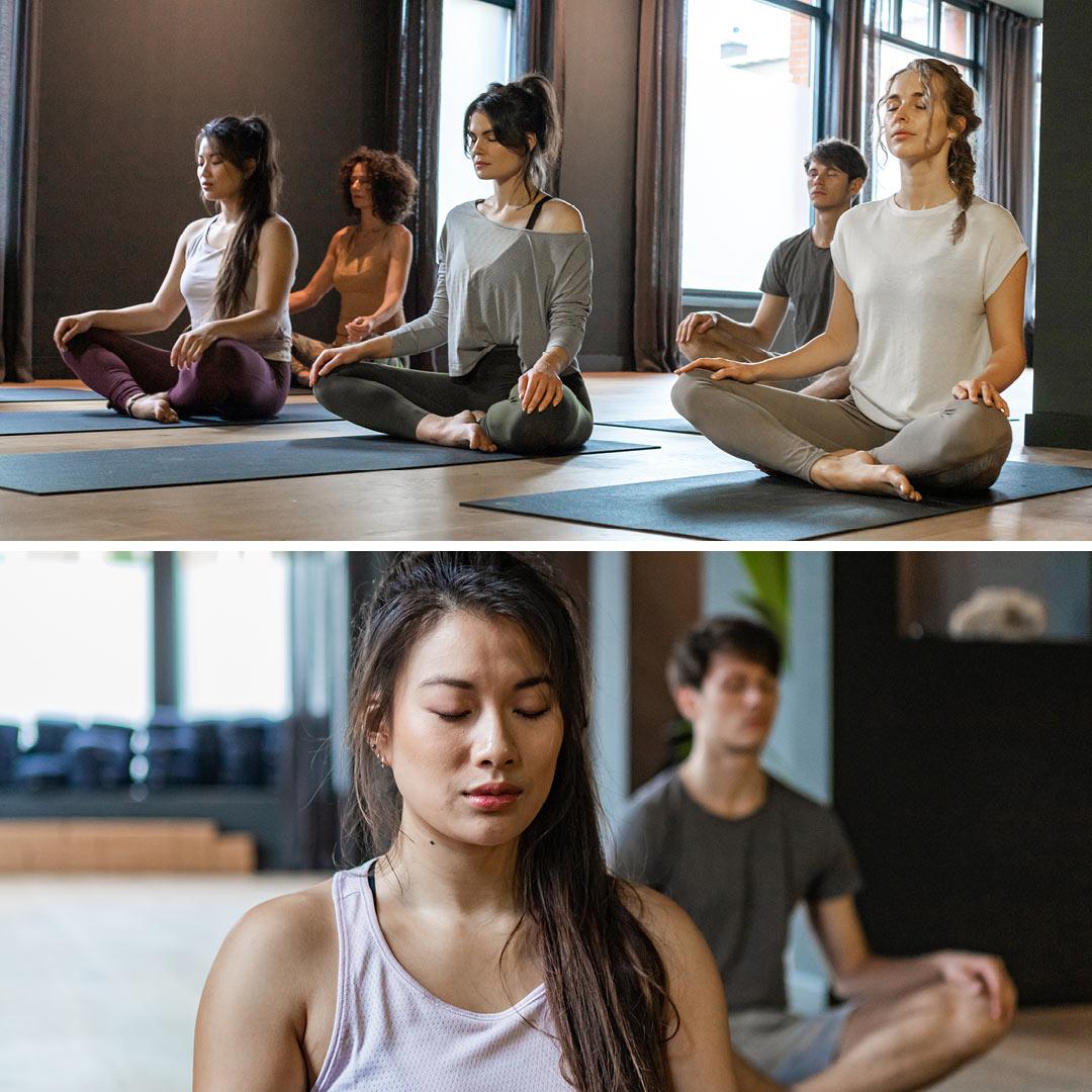 fotografie yoga studio bondi den haag door fitbrand