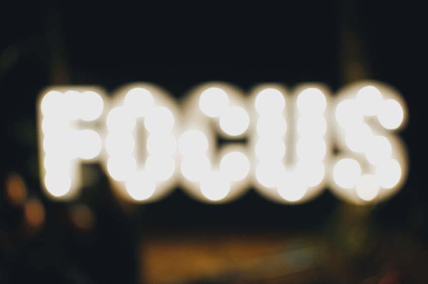 Scherpstellen en/of (Auto)focus?